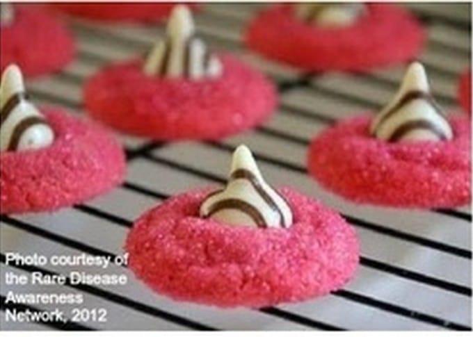 Cooking for a Cause: Rare Disease Awareness Zebra Sugar Cookies