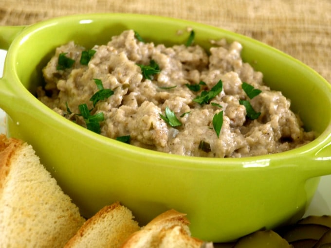 Cretons, a French-Canadian Pork Pâté popular in parts of New England and Quebec, Canada.