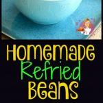 Homemade Refried Beans PT