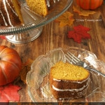 Using a decorative Bundt pan is an easy way to make the simple Autumn Spiced Pumpkin Bundt cake look more impressive.