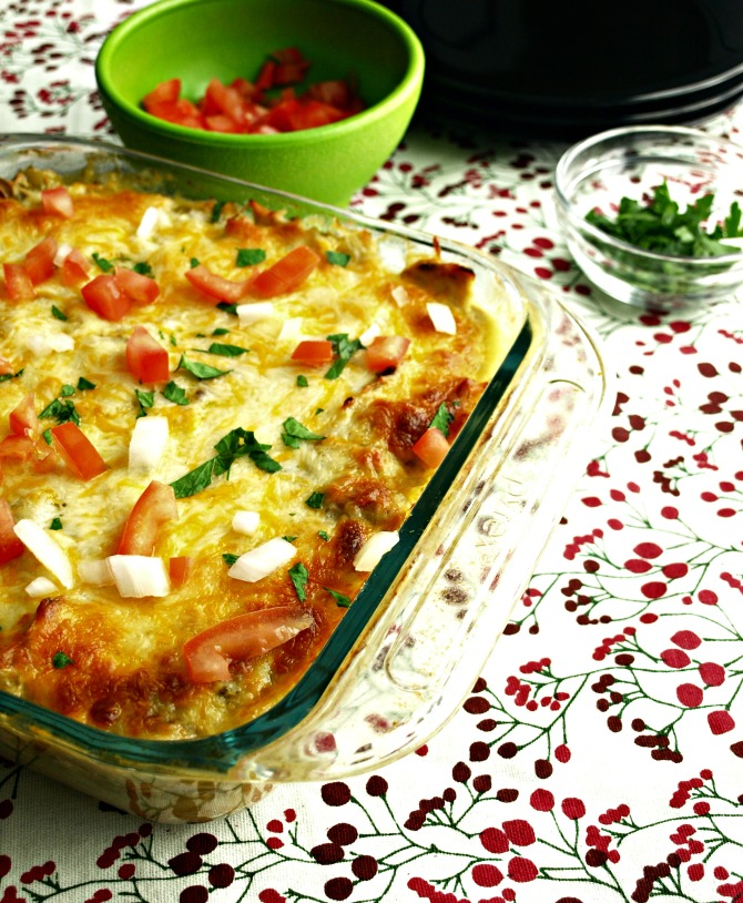Pork Tamale Pie has the same flavor and ingredients as a steamed tamale without the hours of stuffing and rolling the corn husks.