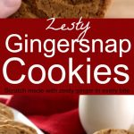 Ginger Snap Cookies 4 PT