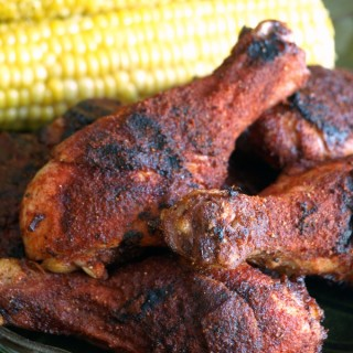Memphis Style Barbecued Dry-Rubbed Chicken is extremely moist, tender and delicious.