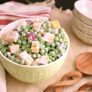 Creamy English Pea Salad