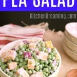 English Pea Salad MAIN