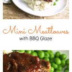 Mini Meatloaves with BBQ Glaze Pinterest COllage