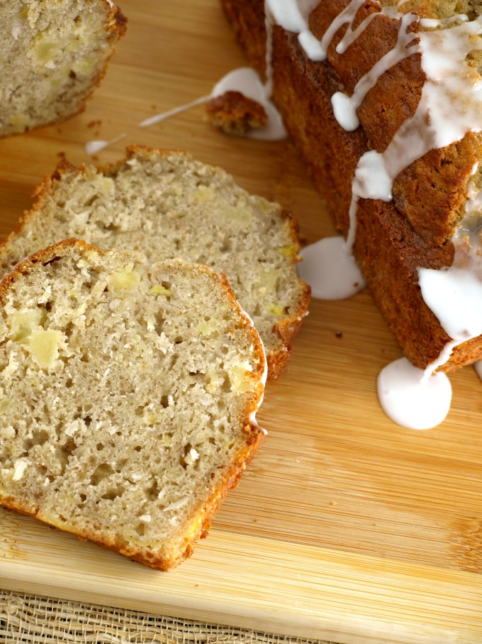 Tropical Banana Bread is very moist and delicious and will be an instant hit with your family