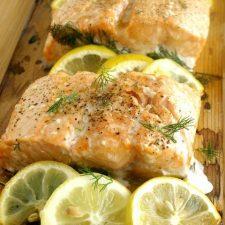 Cedar Plank Salmon 2