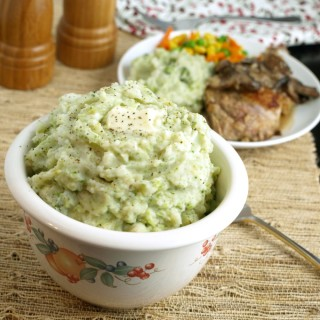 Broccoli  Mashed Potatoes