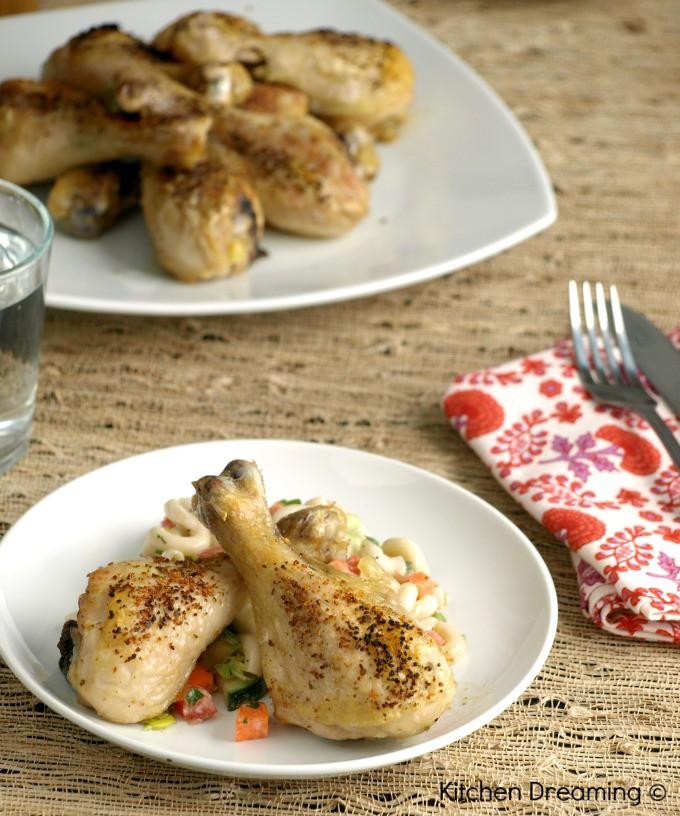 Baked Garlic Chicken