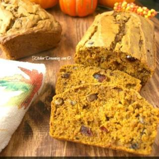 Cranberry Pumpkin Nut Bread
