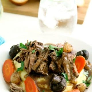 With No This Crock Pot Pot Roast contains no MSG, condensed soup mixes or prepackaged sauce mixes, and takes just 10 ingredients!