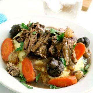 Crock Pot Pot Roast 3 650