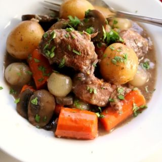 BEef Burgandy Stew
