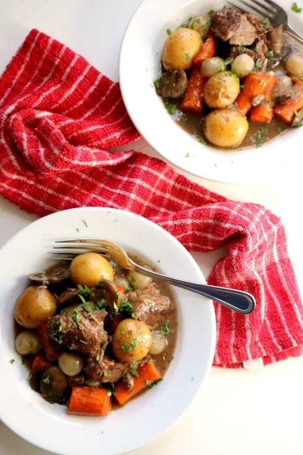 Beef Burgundy Stew 2 3