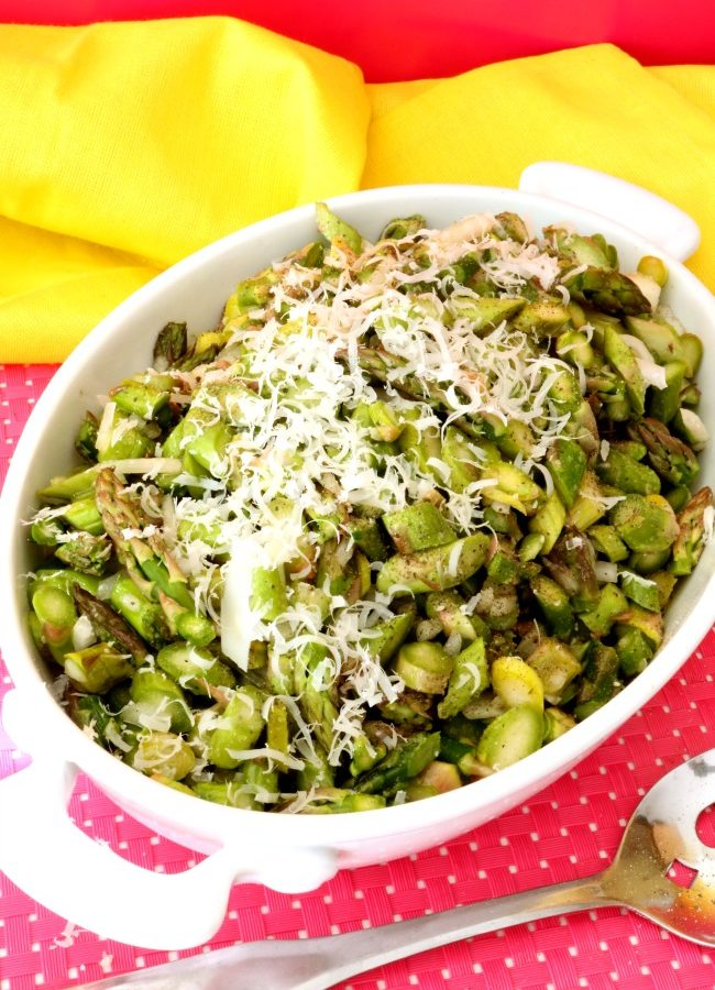 Quick and Easy Asparagus Salad – Try it, It's delicious!