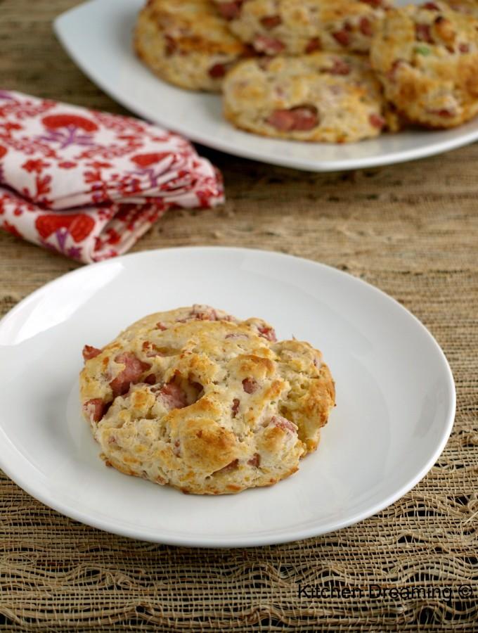 Ham & Cheese Scones