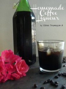 Homemade Coffee Liqueur can be made with your sugar level in mind. Use in place of your usual coffee liqueur and enjoy.