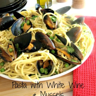 Pasta with White Wine & Mussels