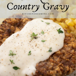 Country Fried Steak and Country Gravy 2