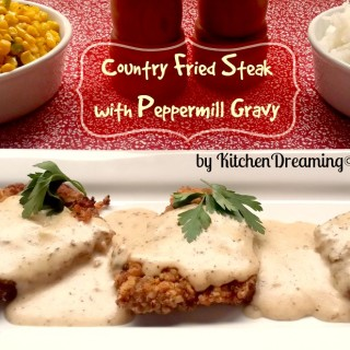 Chicken Fried Steak with Homemade Country Gravy