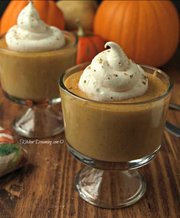 Pumpkin Pie Pudding 1