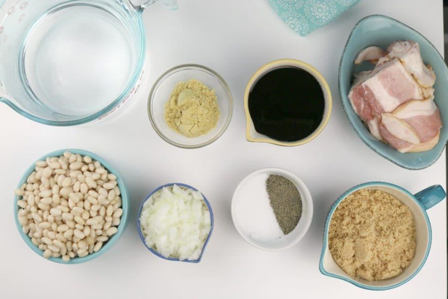 Boston Baked Beans Ingredients
