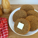 Boston Brown Bread also called Molasses Bread is a very traditional recipe dating back to Colonial times.