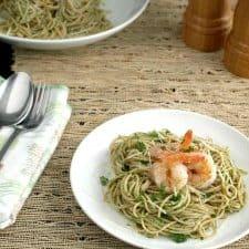 Chimichurri Pasta with Shrimp KD 225x300 1