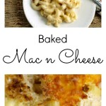 Baked Mac n Cheese Pinterest Collage