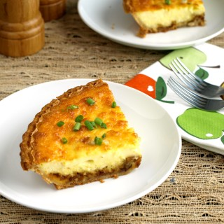 If you love caramelized onions, you will absolutely devour this Caramelized Onion Quiche.