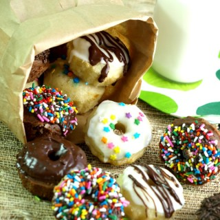 Lowfat Baked Doughnuts