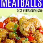 sWEET SOUR MEATBALLS MAIN