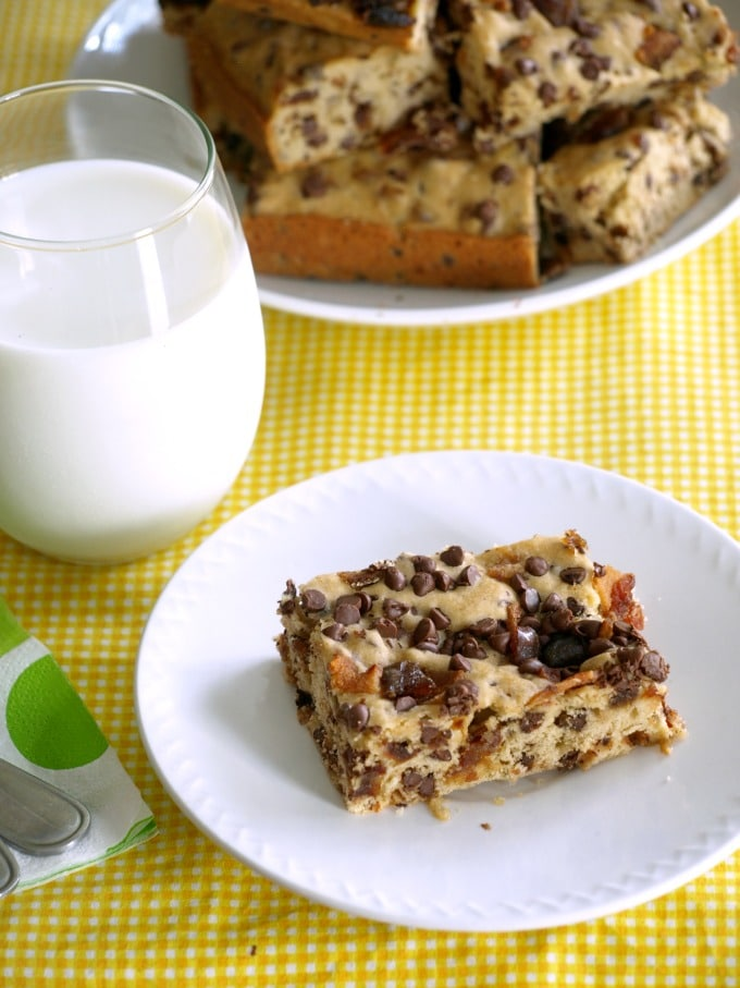 This simple, easy to follow recipe for Bacon Date Blondies yields a moist, chewy bar that is simply delicious.