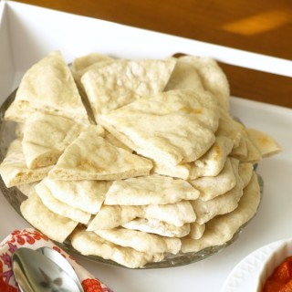 There is noting quite like enjoying homemade soft, fresh pita with a giant bowl of freshly made hummus. N-O-T-H-I-N-G!