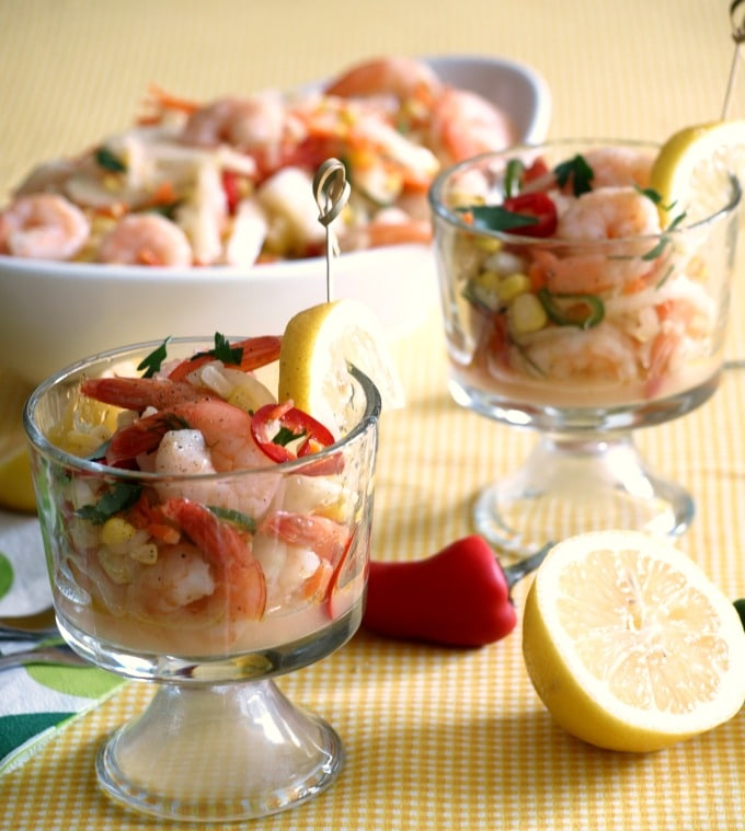 This simple, easy to follow recipe for Quick Pickled Shrimp is perfect for summer.