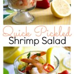 Quick Pickled Shrimp Pinterest Collage