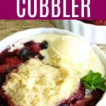 CROCK POT BLUEBERRY COBBLER MAIN 2