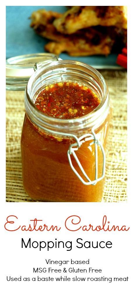 Carolina Mopping Sauce