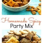 Homemade Spicy Party Mix