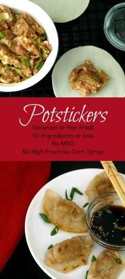 These potstickers are easy to make and so much tastier that anything you'll find in your grocer's freezer section. | KitchenDreaming.com |