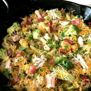 Easy Loaded Chicken Skillet