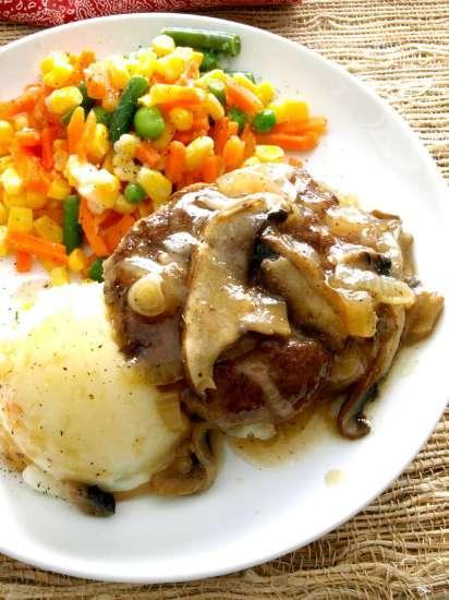 Crock Pot Salisbury Steak