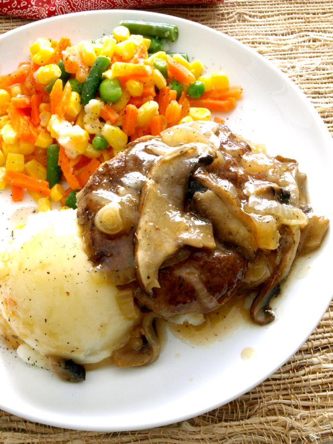Let this one-skillet Salisbury Steak take a little of the