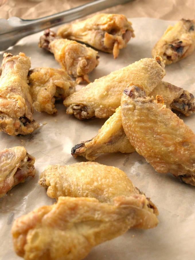of the wing shop home to your oven with Crispy Baked Chicken Wings ...