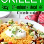 Chicken Burrito Skillet MAIN