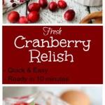 Cranberry Relish 4