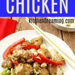 Lighter Kung Pao Chicken MAIN