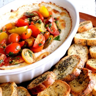 Baked Goat Cheese Dip FB 680