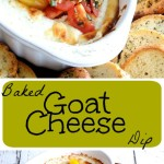 Baked Goat Cheese Dip PT
